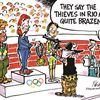 Today's cartoon: Olympic pitfalls